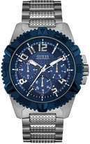 GUESS Men's Stainless Steel Bracelet Watch 46mm U0800G1
