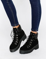 Asos ACRELL Hiker Ankle Boots
