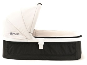 Out Peak Posh Baby and Kids Milkbe Carry Cot Bassinet for Self Stopping Stroller