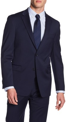 Tommy Hilfiger Adams Two Button Notch Lapel Modern Fit TH Flex Performance Suit Separates Jacket