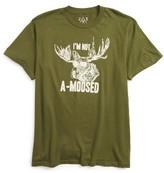 JEM Boy's I'M Not A-Moosed Cotton T-Shirt