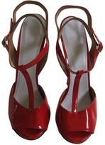 Maison Margiela Red Patent leather Sandals