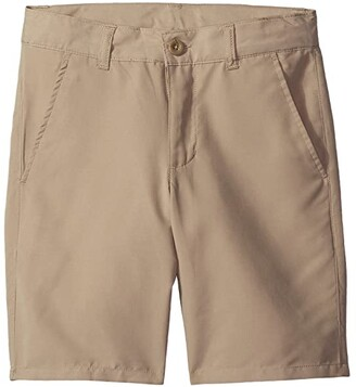 Nautica Performance Shorts (Little Kids/Big Kids) (Khaki) Boy's Shorts