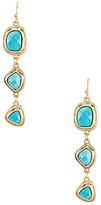 Southern Living Cassadee Turquoise Triple-Drop Earrings