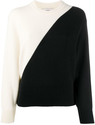 Pringle Two-Tone Crew Neck Sweater