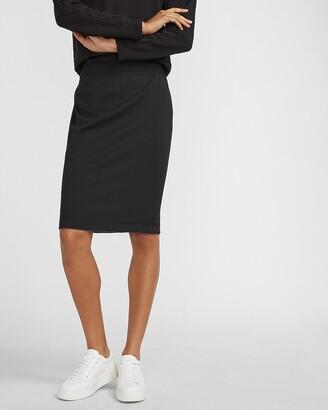 Express High Waisted Reversible Pencil Skirt