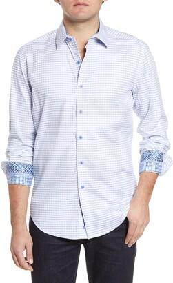 Robert Graham Russell Check Button-Up Shirt