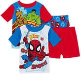 Marvel 4-pc. Pajama Set Boys