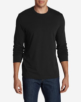 Eddie Bauer Men's Legend Wash Long-Sleeve T-Shirt - Slim Fit