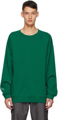 AFFIX Green Foley Sweatshirt