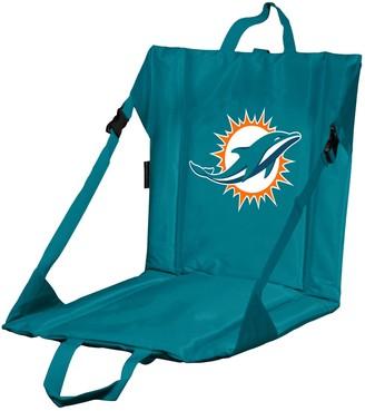 Logo Brands Miami Dolphins Folding Stadium Seat