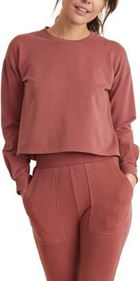 Marine Layer Tate Crop Sweatshirt