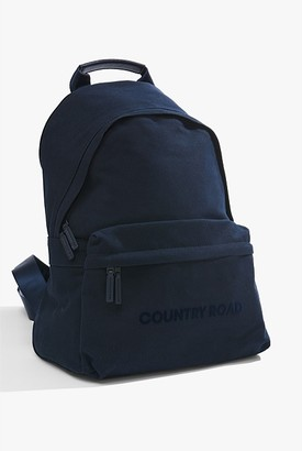 Country Road Flocked Logo Backpack