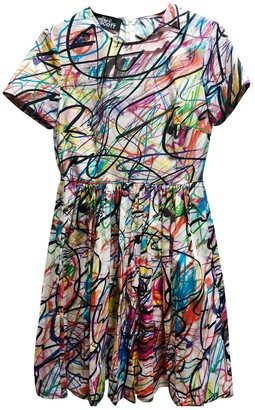 Jeremy Scott Multicolour Cotton Dress for Women