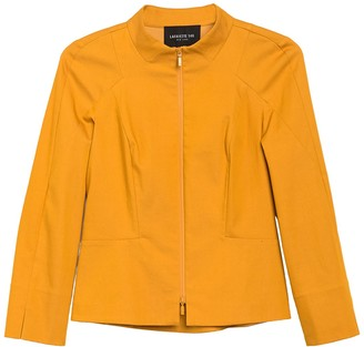 Lafayette 148 New York Marty Seam Design Zip Jacket