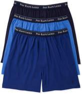 Polo Ralph Lauren Men's Underwear, Classic Knit Boxer 3 Pack