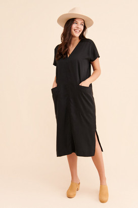 Corey Lynn Calter Jade V-Neck Shift Dress