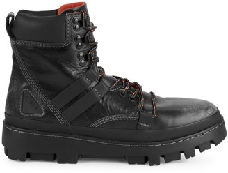 Diesel D-Vibe Leather Hiking Boots