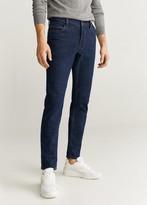 MANGO Slim fit soft wash Jan jeans