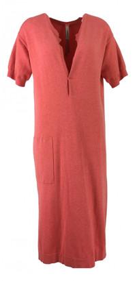 Humanoid Orange Cotton - elasthane Dresses