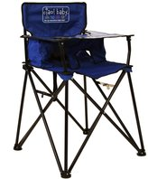 ciao! Baby Portable High Chair, Blue with Carrying Case