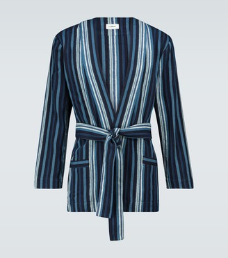 COMMAS Textured robe jacket