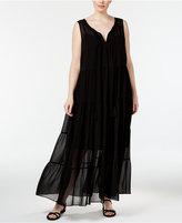 Calvin Klein Plus Size Tiered Maxi Dress