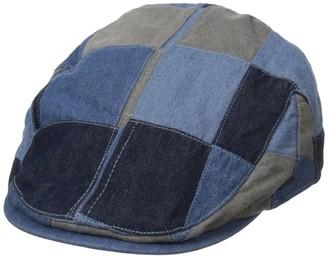 San Diego Hat Company San Diego Hat Co. Men's Patchwork Denim Driver