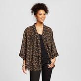 Women's Kimono Jacket Black - Xhilaration (Juniors')