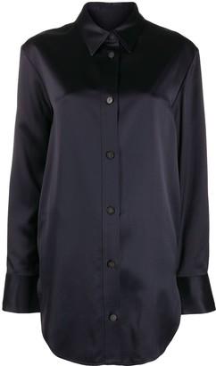 Joseph Bernel satin wool blouse
