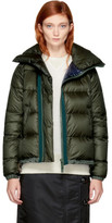 Sacai Khaki Down Nylon Jacket