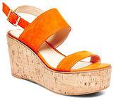 Steve Madden Catlyn Suede Platform Wedge Sandals