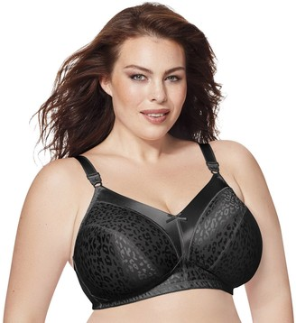 Just My Size Bras: 2-pack Satin Stretch Full-Figure Wire-Free Bra 1960