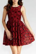 GIBIU Red-N-Refined Dress