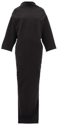 Rick Owens Pyramid Cotton-blend Cady Dress - Black