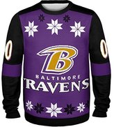 Forever Collectibles NFL Football 2014 Ugly Christmas Sweater Jersey Design - Pick Team!