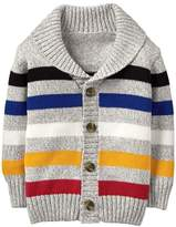 Crazy 8 Stripe Shawl Cardigan