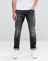 Esprit Skinny Fit Jeans In Washed Black