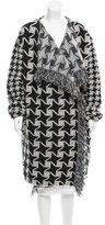 Stella McCartney Patterned Wool Coat