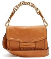 Pierre Hardy Alphaville grained-leather shoulder bag