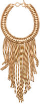 Trina Turk Drama Fringe Frontal Necklace