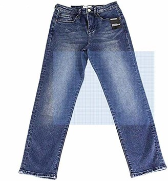 William Rast Women's Misses So Cheeky High Rise Straight Ankle Jean