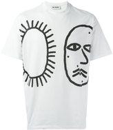 Sunnei face print T-shirt