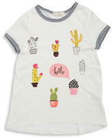 Soprano Girls 7-16 Cactus Tee