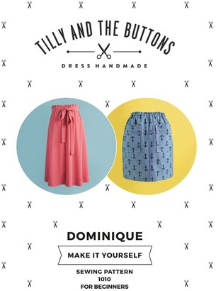 Tilly And The Buttons Tilly and the Buttons Dominique Skirt Sewing Pattern