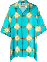 Gucci GG Harness Bowling shirt