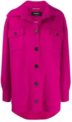 Rochas Button Up Shirt Jacket