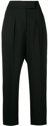 Calvin Klein High-Waist Tailored Trousers