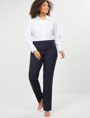 Lane Bryant Allie Tailored Stretch Straight Leg Pant