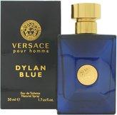 Versace Pour Homme Dylan Blue for Men Eau De Toilette Spray, 1.7 Oz